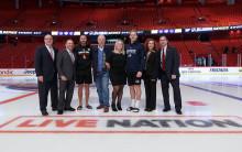 NHL-matcherna i Stockholm en succé!