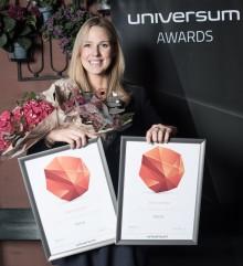 """Visma kåret til """"Årets klatrer"""" i Universum professional undersøkelsen 2016"""
