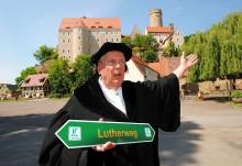 Eröffnung der westlichen Teilstrecke des Lutherwegs in Sachsen