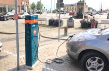 Nu blir det lättare att ladda elbilen i Helsingborg
