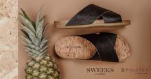 Sweeks of Sweden lanserar vegansk sandal i Piñatex ®