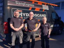 SlangExpress har växlat upp i Söderhamn