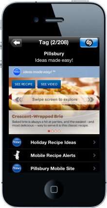 Pillsbury mobile instant win