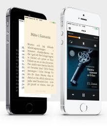 Ny app:  Svenska Storytel först i världen med lansering av ny app för obegränsad streaming av e-böcker och ljudböcker