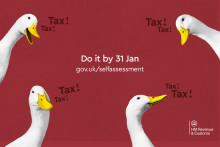 Do your tax return before it drives you quackers, you've got one week to go!