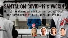 PANELSAMTAL om covid-19 och vaccin