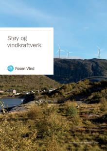 Støy og vindkraft-brosjyre