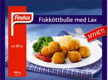 Findus lanserar en Fiskköttbulle med lax