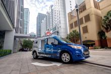 """Firmy i jejich zákazníci na Floridě mohou zažít, jaké to je, když zboží doručuje rozvážkový Ford """"bez řidiče"""""""