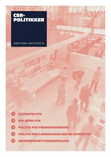Arkitema Architects -  CSR-politikker 2018