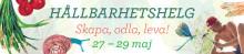 Bli miljösnäll! Börja plastbanta! Bygg ett hus på hjul! NoPoo – gör egna kroppsprodukter! Skapa bokashikompost! Hållbarhetshelg med marknad på Ängsbacka, 27-29 maj