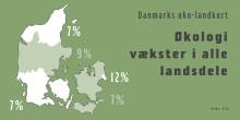 Det danske økolandkort