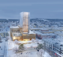 White Arkitekter vann i Cannes med sin gestaltning av Skellefteås kulturhus
