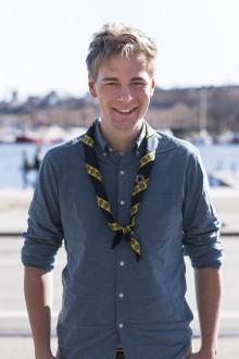 Julius Kramer får Kompassrosen för modigt ledarskap inom hållbar utveckling