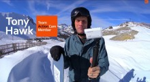 Tony Hawk tester det nye 4K Action Cam fra Sony