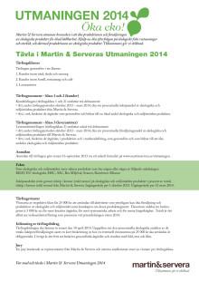 Information om Utmaningen 2014