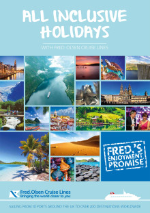 Now's the time to try cruising with Fred., on an 'All Inclusive Holiday' in 2016/17