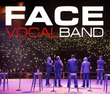 A capella-gruppen Face Vocal Band lyser upp Kulturkvarteret i novembermörkret