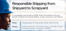 Roundtable conference on human rights in shipping  6. November