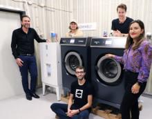 Tillsammans skapar Mimbly och PODAB en ny, hållbar lösning för tvättstugan