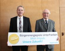 Bürgerenergiepreis Unterfranken - Bayernwerk und Regierung von Unterfranken würdigen gesellschaftliche Impulse für die Energiezukunf
