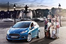 Ford lanserer ny Fiesta med unikt teknologiutstyr