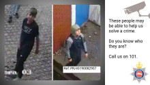 Can you help us identify these teenage boys who may help our investigation into a burglary at a warehouse in Camberley?