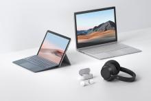 Microsoft lanserer nye Surface-modeller, hodetelefoner og annet tilbehør
