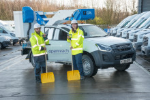 Openreach stocks up for winter to keep the East Midlands connected