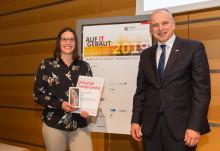 """Wettbewerb """"Auf IT gebaut"""": ZÜBLIN kürt Preisträgerin"""