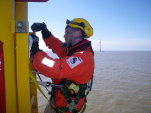 RES signs operations and maintenance contract to maintain the newly installed West of Duddon Sands met mast