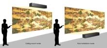 Sony presenta el proyector 4K de alcance ultracorto con fuente de luz láser