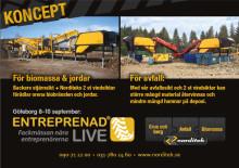 Besök oss i Göteborg på Entreprenad Live 8-10 September
