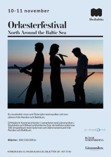 Orkesterfestival North Around the Baltic Sea - flyer