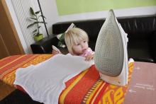 Kinderunfälle im Haushalt: Statt Panik, Ruhe bewahren