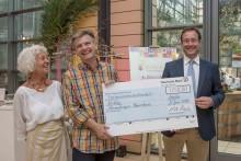 Spendensammlung bei Mitarbeiterveranstaltung der Deutschen Bank