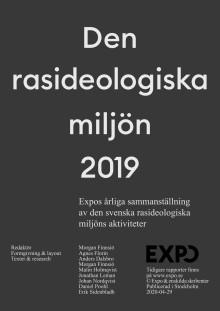 Årsrapport - Den rasideologiska miljön 2019