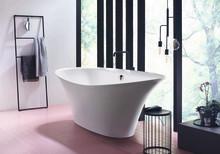 Auf Entspannungskurs mit der neuen Badewanne Badu von burgbad