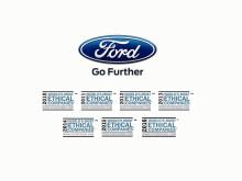 Ford er eneste bilproducent på Ethisphere Institutes liste over verdens mest etiske virksomheder