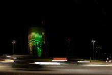 Umeå Energi lyser upp känt landmärke