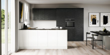 Contrast in the kitchen:  Design ideas based on contrast