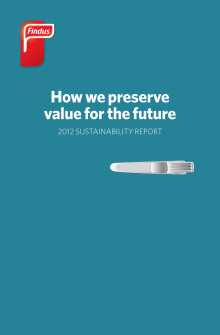 Findus Sustainability Report 2012