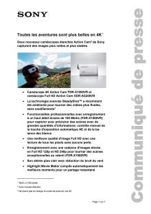 Communication de presse_CES 2015_Action Cam_F-CH_150106