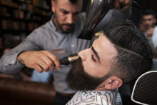 Han tog tredje finalplatsen till Årets barberare 2018!
