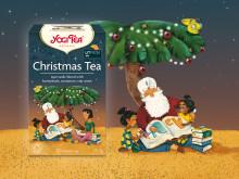 Årets julte från Yogi Tea värmer med kryddiga smaker och gott samvete