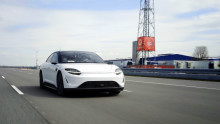 Sony Group and Vodafone Germany start 5G driving test of VISION-S Prototype toward the realization of highly autonomous driving and the creation of new values for cabin space