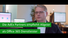 Die AdEx Partners empfiehlt Allgeier als Office 365-Dienstleister