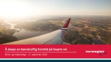 Presentasjon av Norwegians nye klima- og miljøstrategi