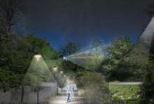 Trygghets- och belysningssatsning längs viktigt stråk i city