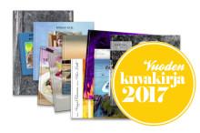 Vuoden kuvakirja 2017 valitaan yleisöäänestyksellä